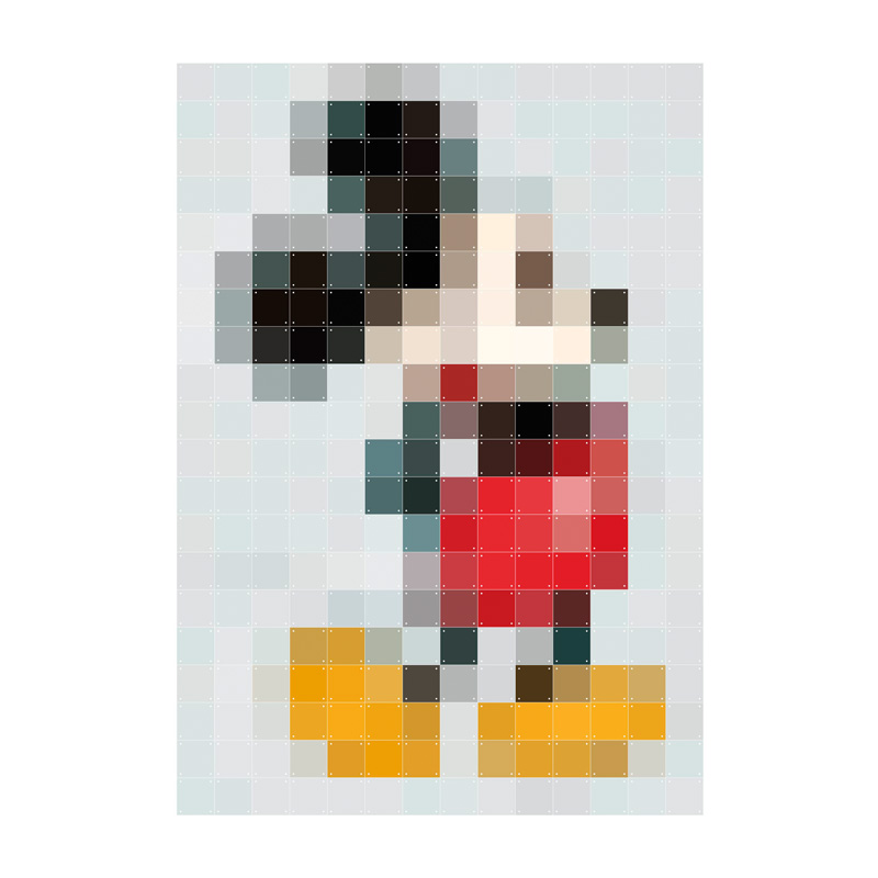Muurdecoratie Mickey Mouse
