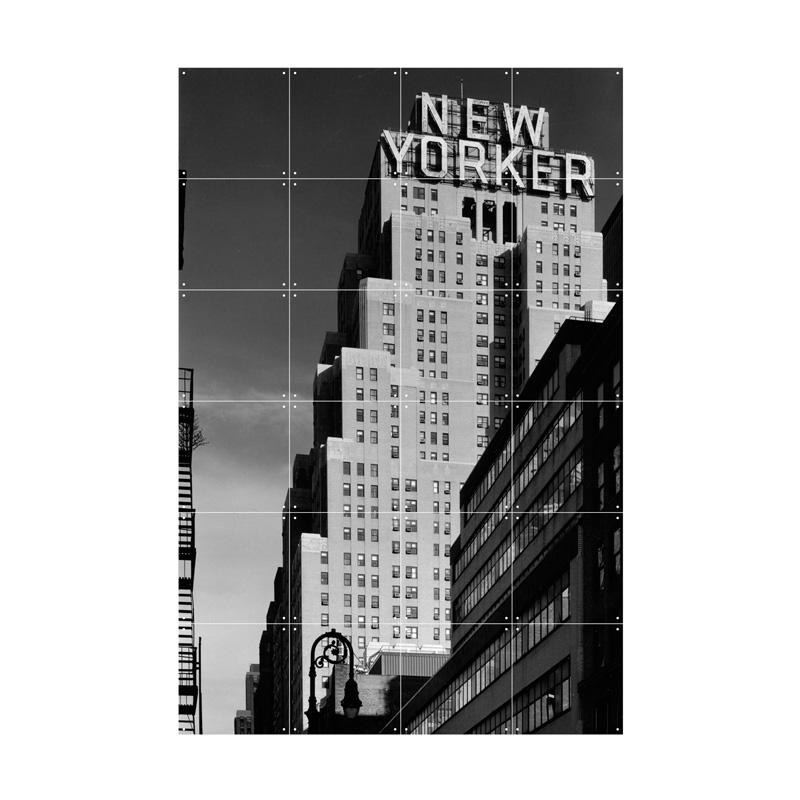 Wanddecoratie van hotel New Yorker