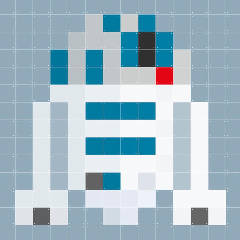 Wanddecoratie R2-D2