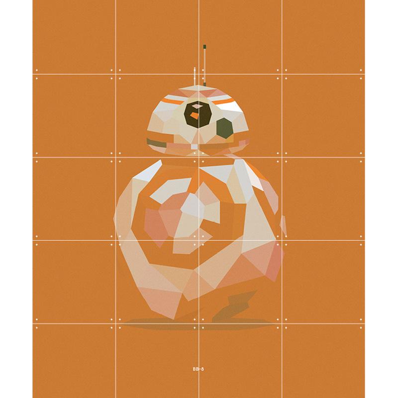 Muurdecoratie van BB-8