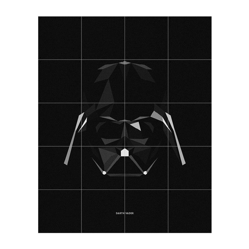 Muurdecoratie Darth Vader