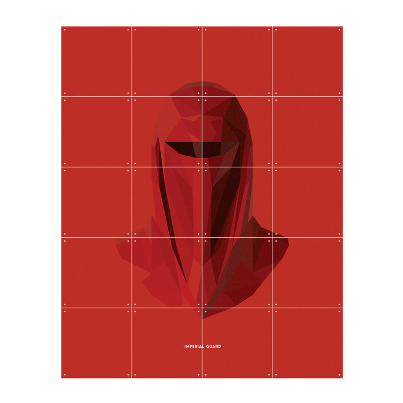 Wanddecoratie Imperial Guard