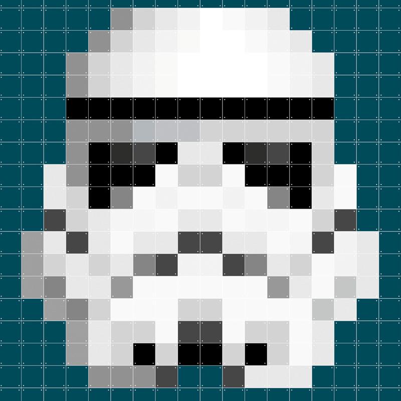 Wanddecoratie van stormtrooper