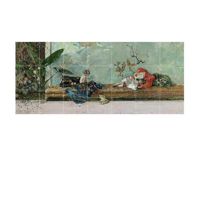 Wanddecoratie kamer Japans