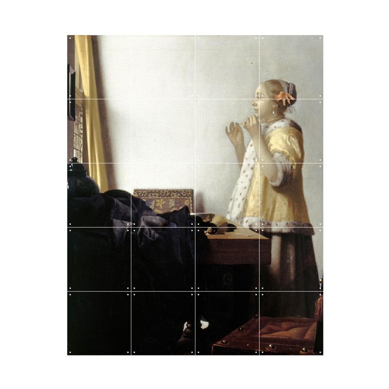 Wanddecoratie vrouw