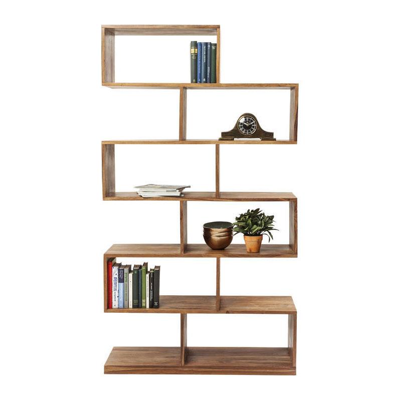 Design open kast van hout