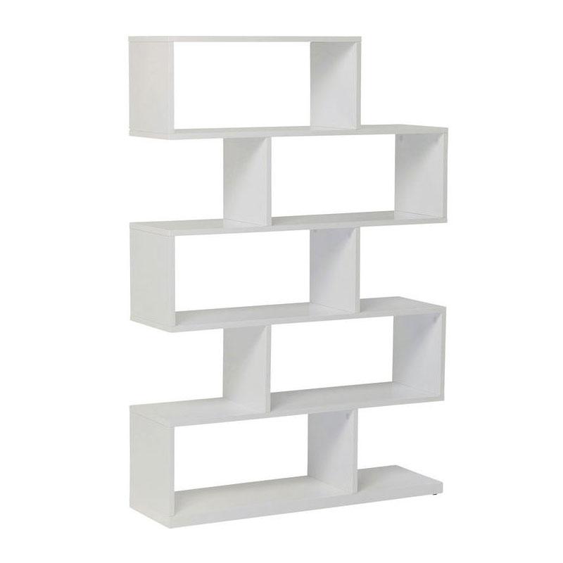 Kare design brooklyn white hoogglans witte open kast lumz for Kledingkasten outlet