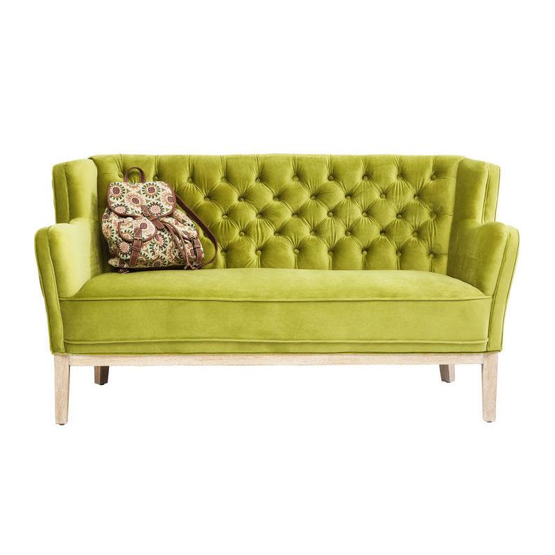 kare design coffee groene retro bank lumz. Black Bedroom Furniture Sets. Home Design Ideas