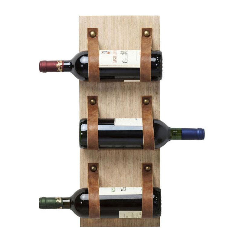 Wijnrek voor 3 flessen