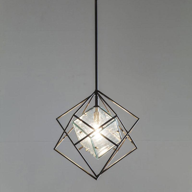 Kleine zwarte hanglamp