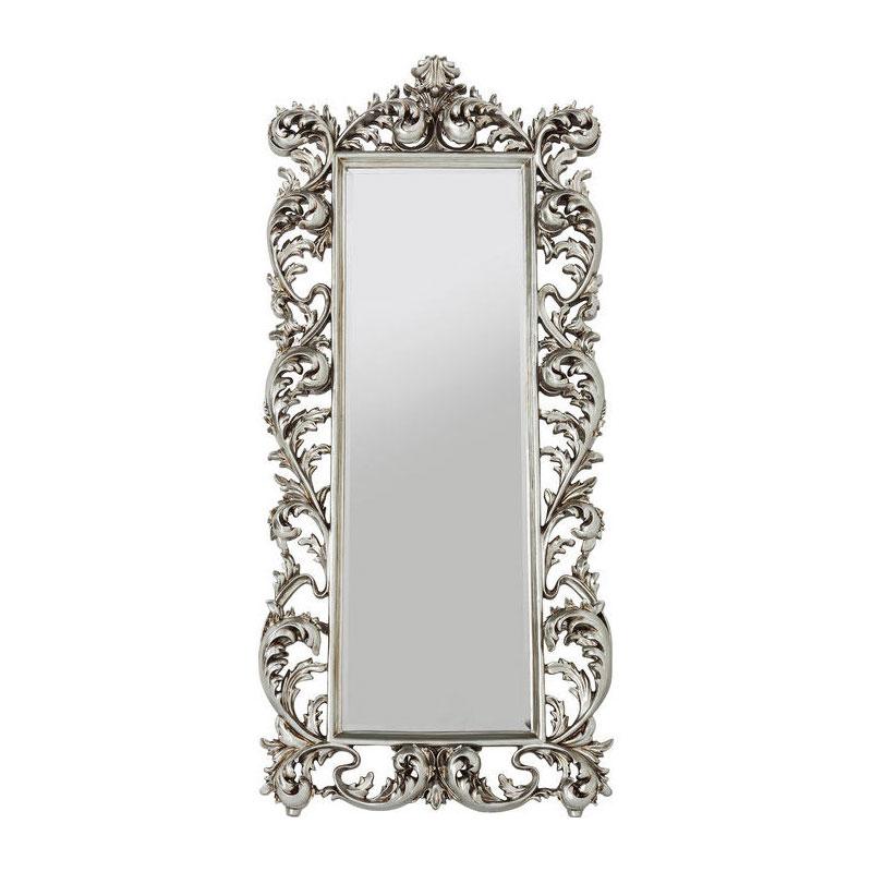 Brocante Zilveren Spiegel.Brocante Spiegel Zilver
