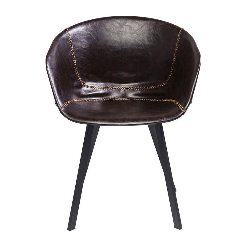 Stoel Met Leuningen.Kare Design Lounge Kunstlederen Stoel Met Leuningen Lumz