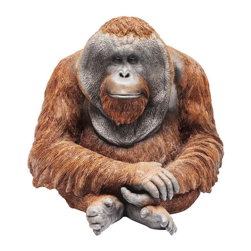 Kunststof beeld van een orang oetan