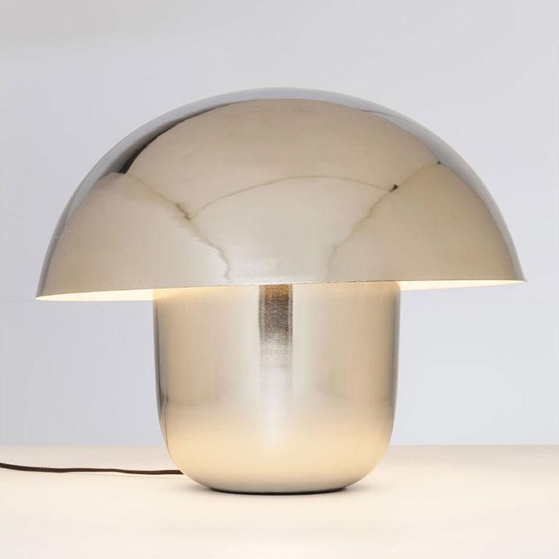 Tafellamp van chroom