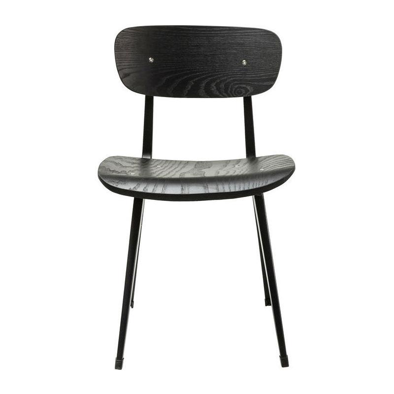 Kare Design Oslo | Houten zwarte eetkamerstoel | LUMZ