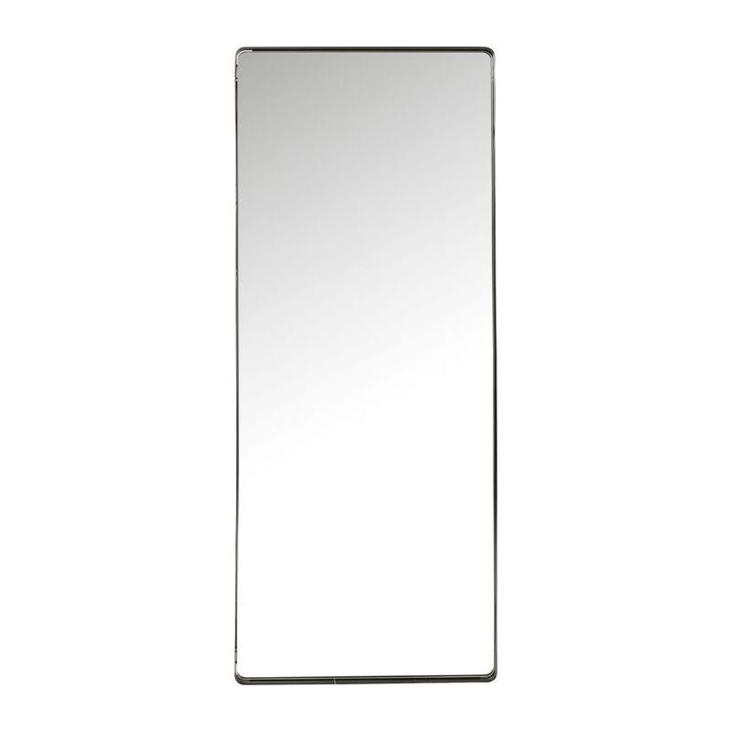 Kare design shadow soft spiegel met zwarte lijst 200 cm for Zwarte spiegel