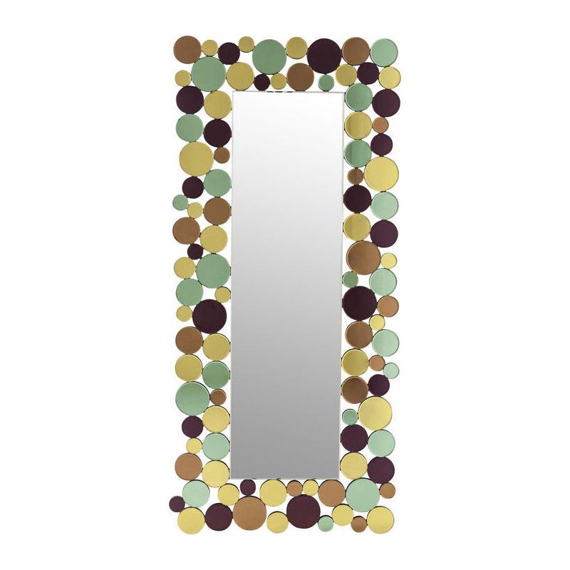 Kleurrijke spiegel 180cm
