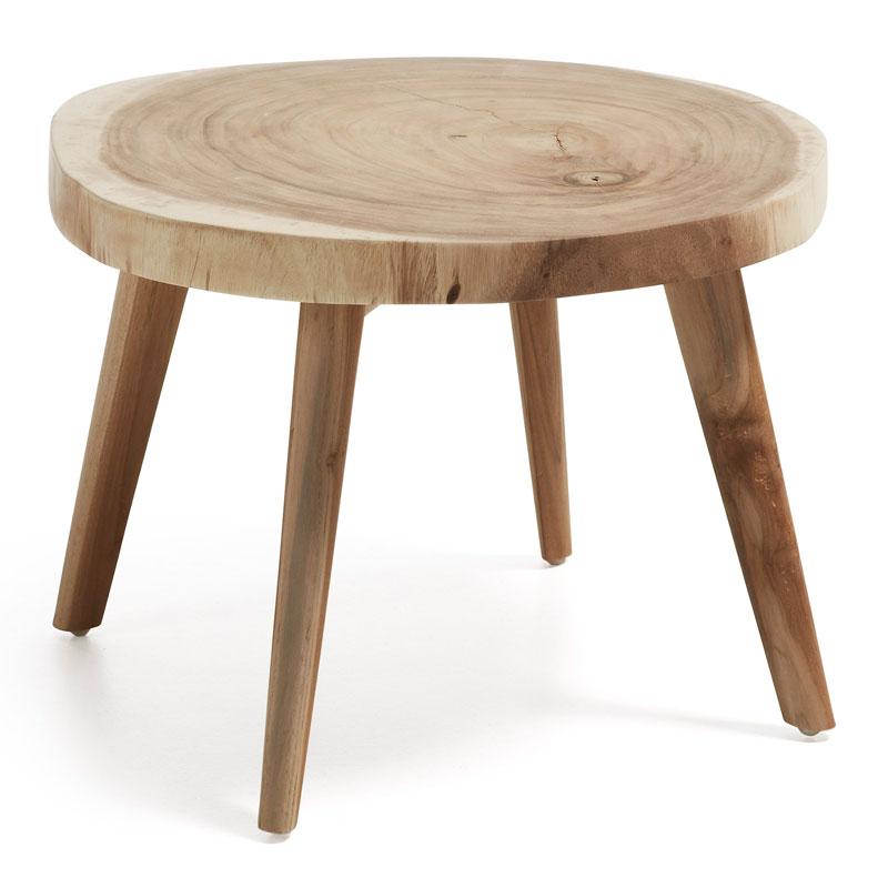 Koffietafel van hout