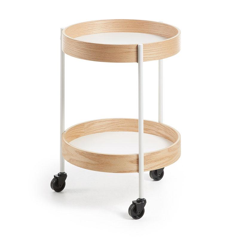 Modern tafeltje met wielen