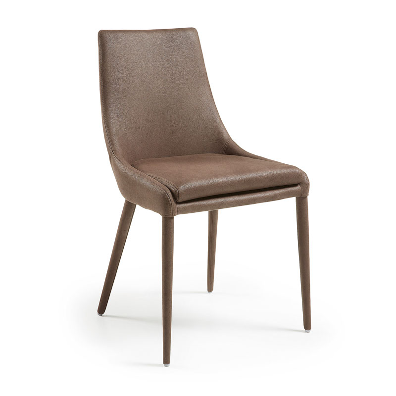 Elegante stoel van imitatieleder