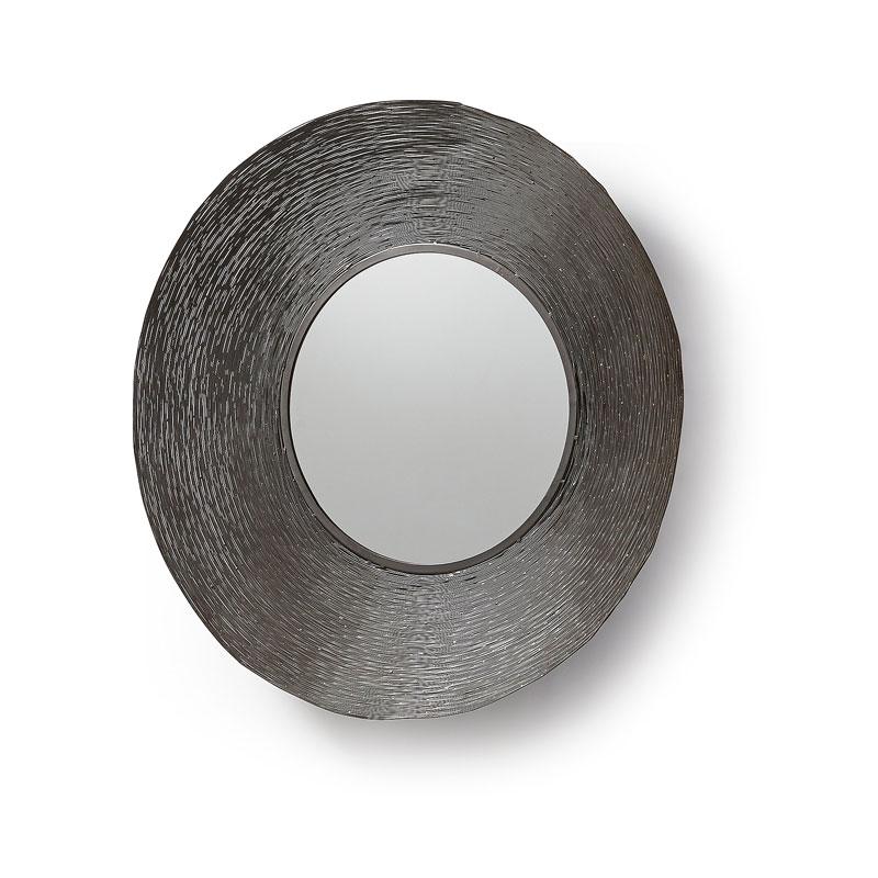 Ronde spiegel van zink