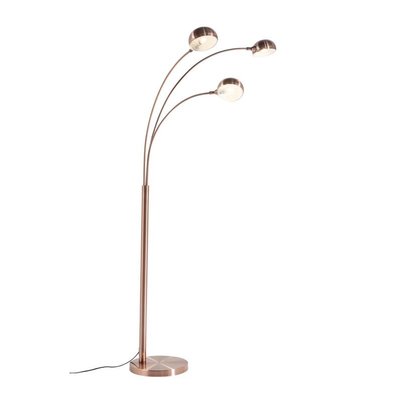 Lamp koper kare design three fingers for Koper design
