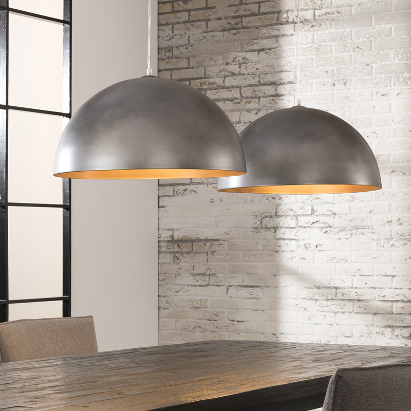 moderne hanglamp 2 kappen santa forano. Black Bedroom Furniture Sets. Home Design Ideas