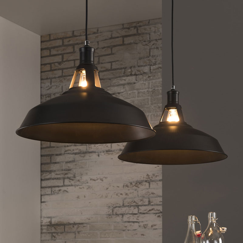 moderne hanglamp zwart santa asoli. Black Bedroom Furniture Sets. Home Design Ideas