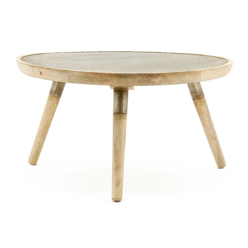 Moderne houten salontafel