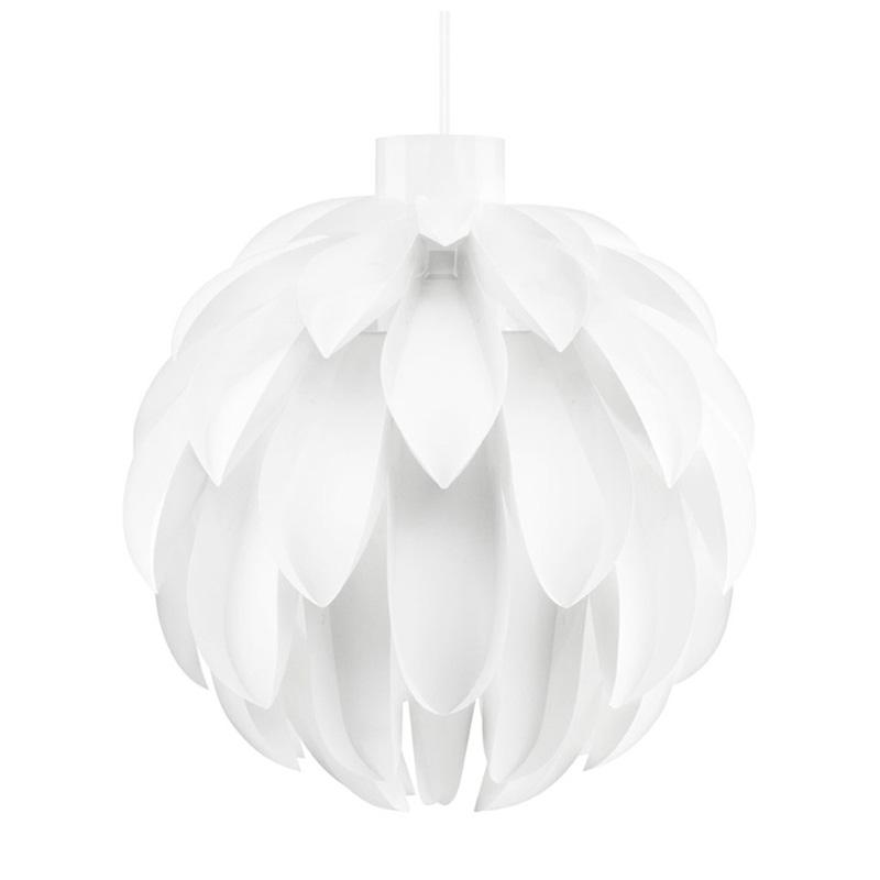 Ronde design hanglamp wit