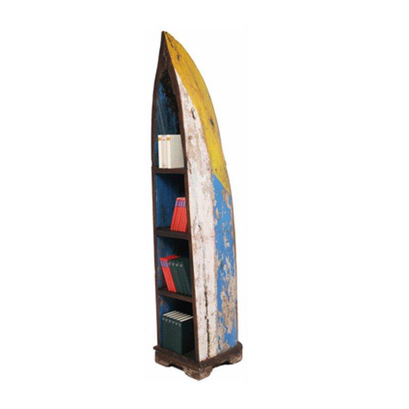 Retro boekenkast Shelf Boat Trip
