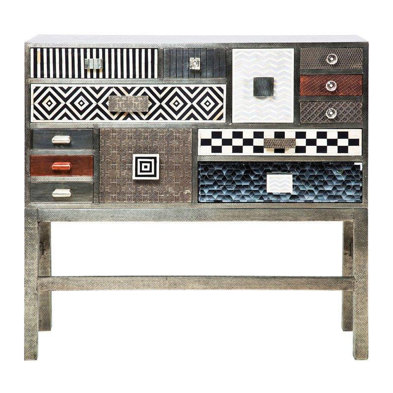 Retro design dressoir Chalet 14 drawers