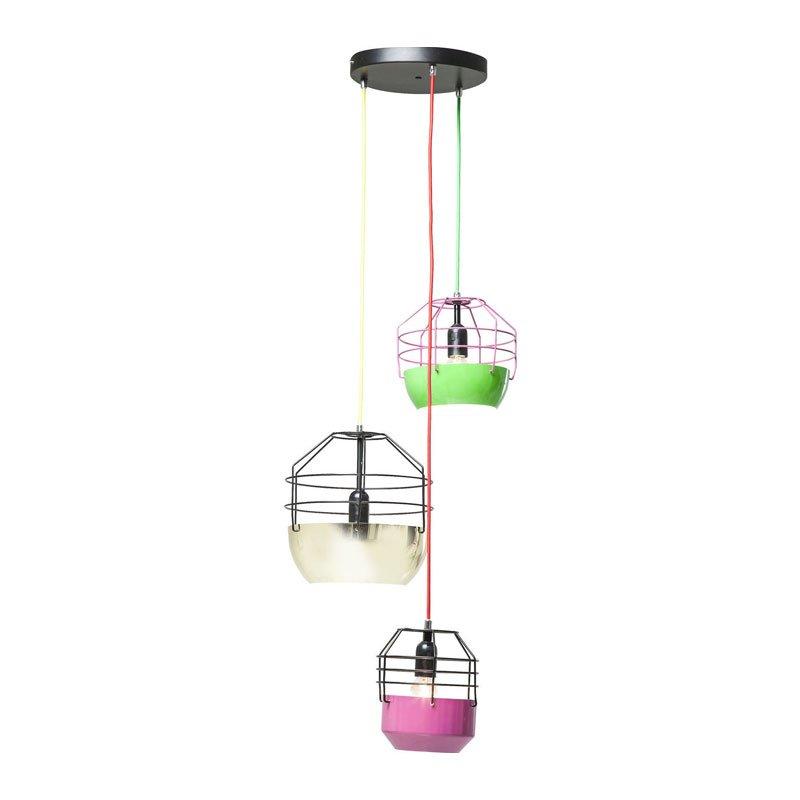 Retro hanglamp Gabbia Colore 3