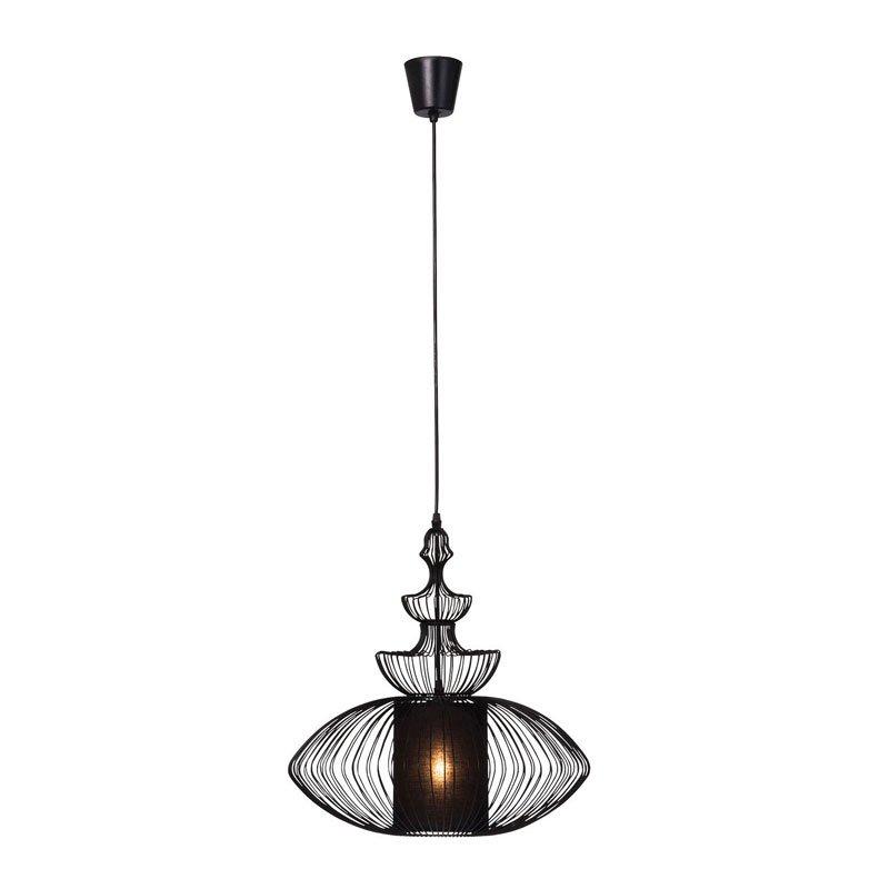 Retro hanglamp Swing Iron Oval
