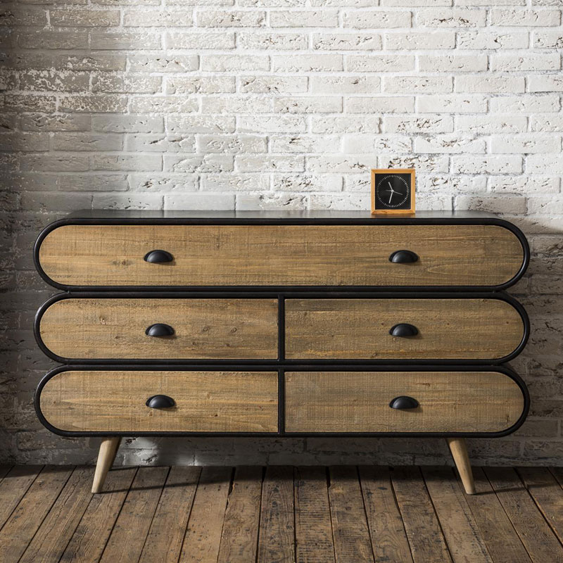 Ladekast Trunk industrieel dressoir
