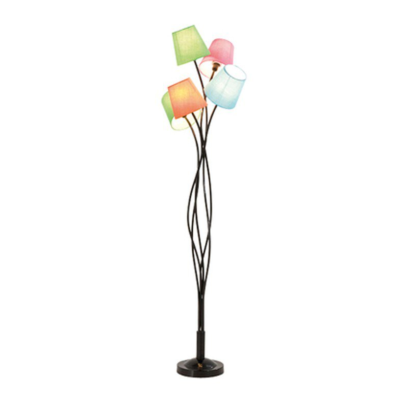 Retro vloerlamp Cinque Colore
