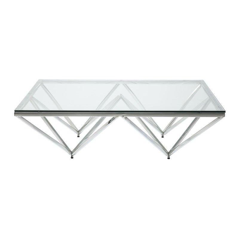 Bijzettafel Metaal Glas.Kare Design Network Design Salontafel Met Glas Lumz
