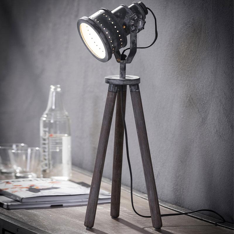 Spotlight lampje op driepoot