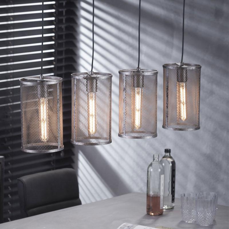 Cilindervormige hanglamp 4L