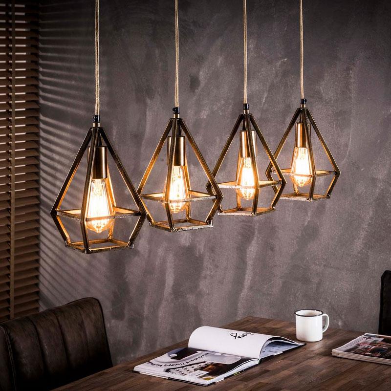 Hanglamp van metaal 4L