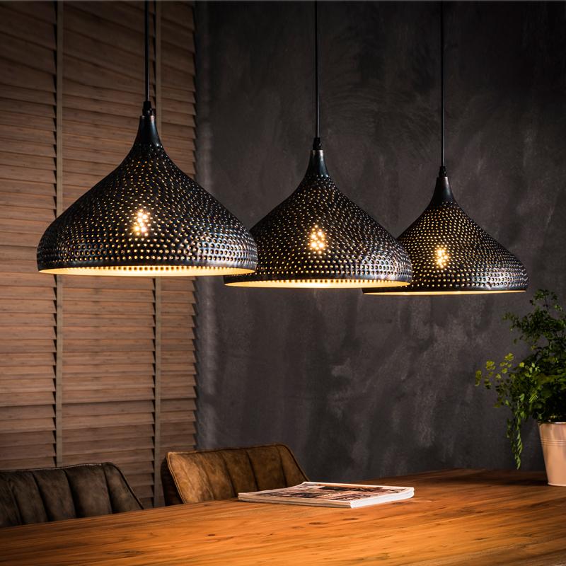 Trechtervormige hanglamp