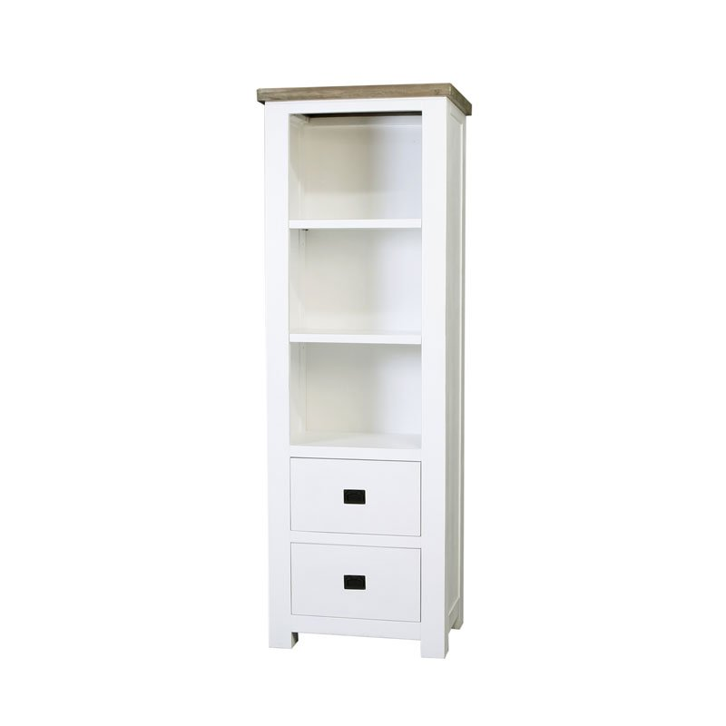 Smal Wit Boekenkastje.Smalle Boekenkast Wit Ramos Belfort