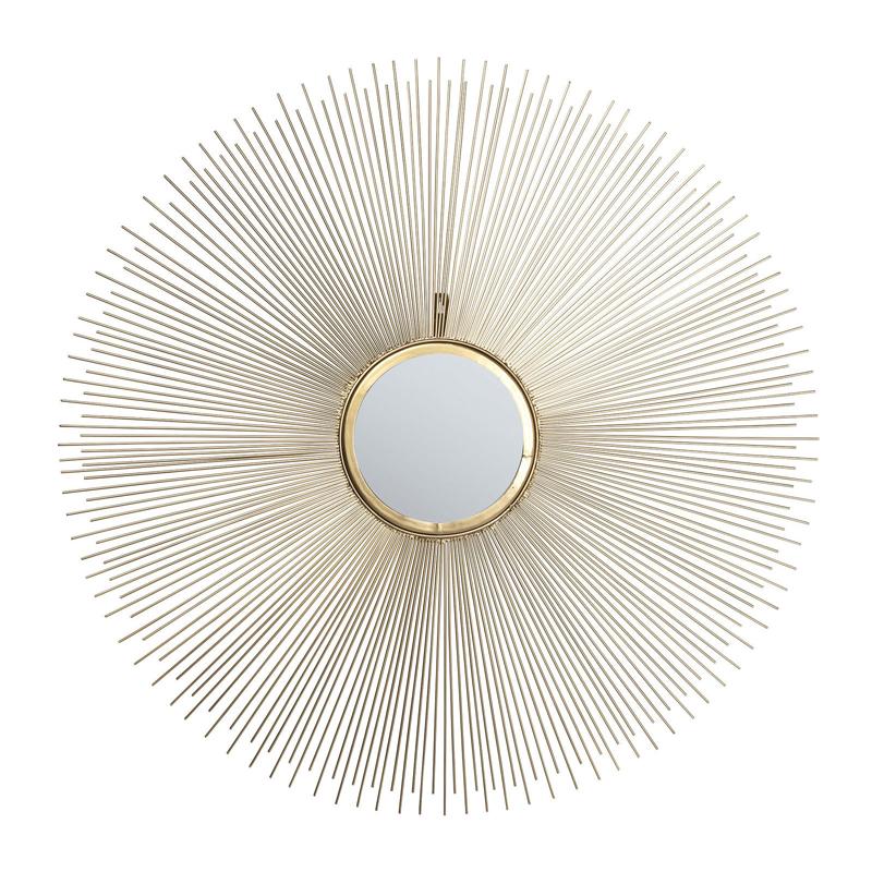 kare design deco stalen spiegel 79763 lumz. Black Bedroom Furniture Sets. Home Design Ideas