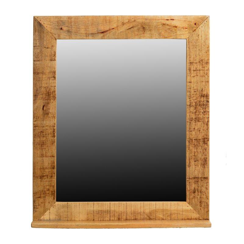 Stoere spiegel hout Lavis Porter