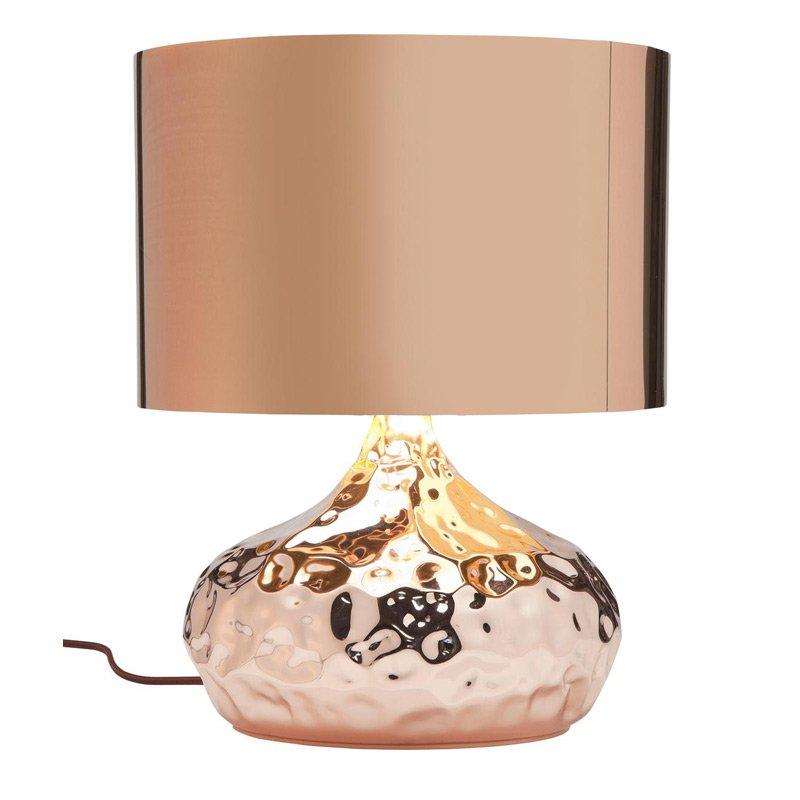 Tafellamp Rumble koper 38
