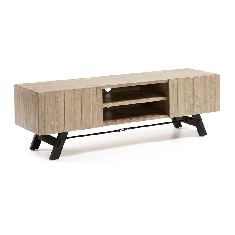 TV-meubel van acaciahout