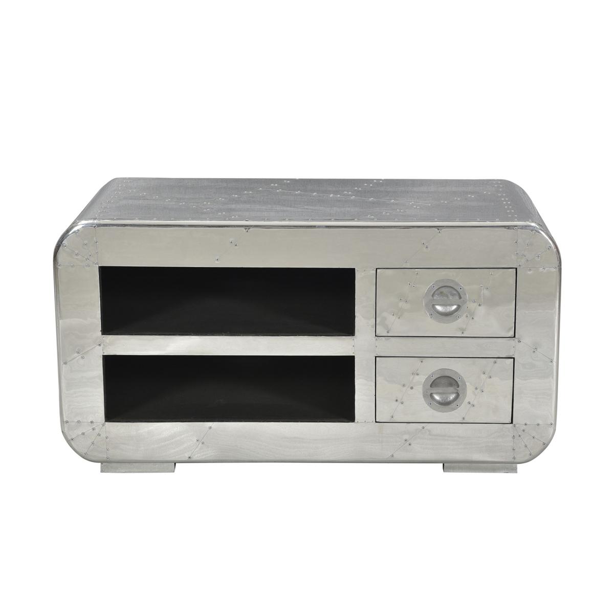 Tv-meubel aluminium 100 cm