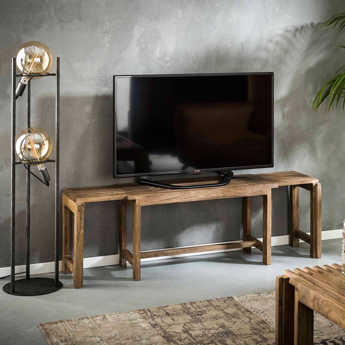 Uitschuifbaar houten tv-meubel