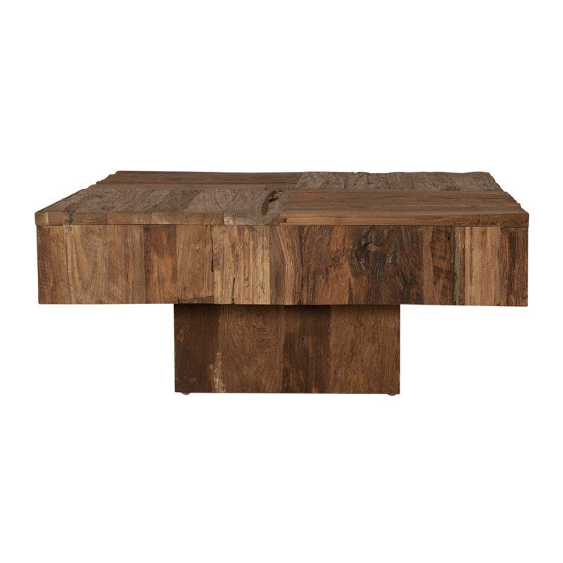 Vierkante salontafel Lavis Jut 80