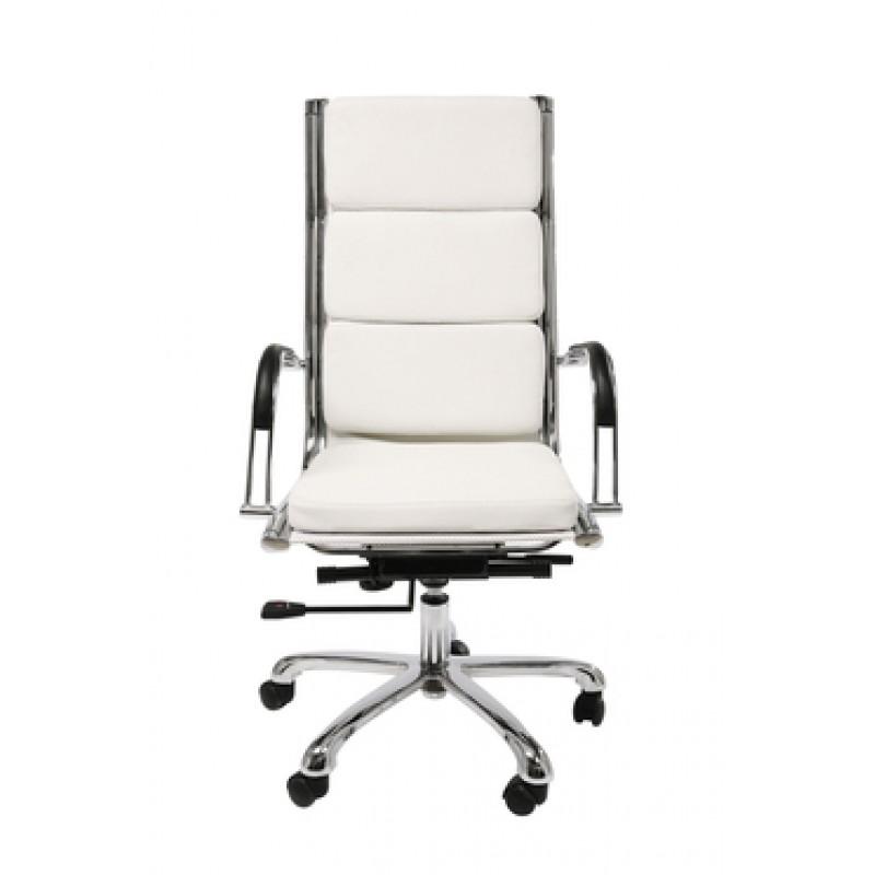 Hoge Bureau Stoel.Witte Bureaustoel Met Hoge Rugleuning Kare Design Napalon Lumz Nl